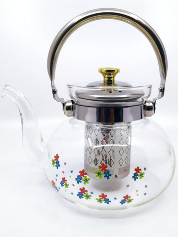 Glass tea cooker