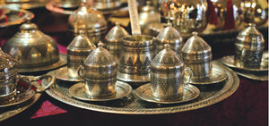 Handmade Turkish Copper and Turkish Coffee Pots