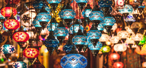 Handmade Turkish Mosaic Lamps and Lighting