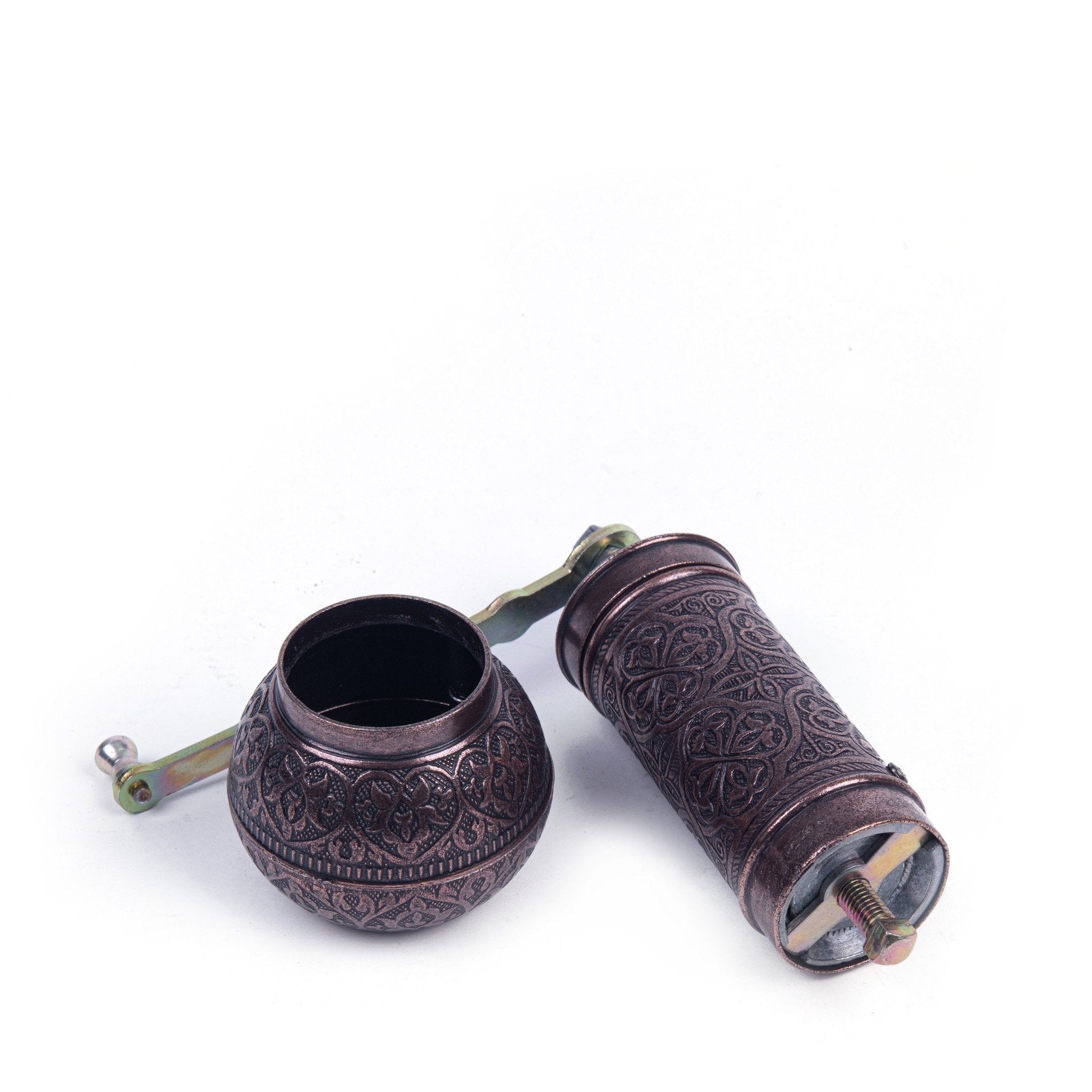Authentic Copper Turkish Grinder-3