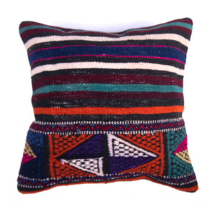Authentic Kilim Cushion Cover-Front