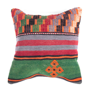 Authentic Kilim Pillow Cover-Front