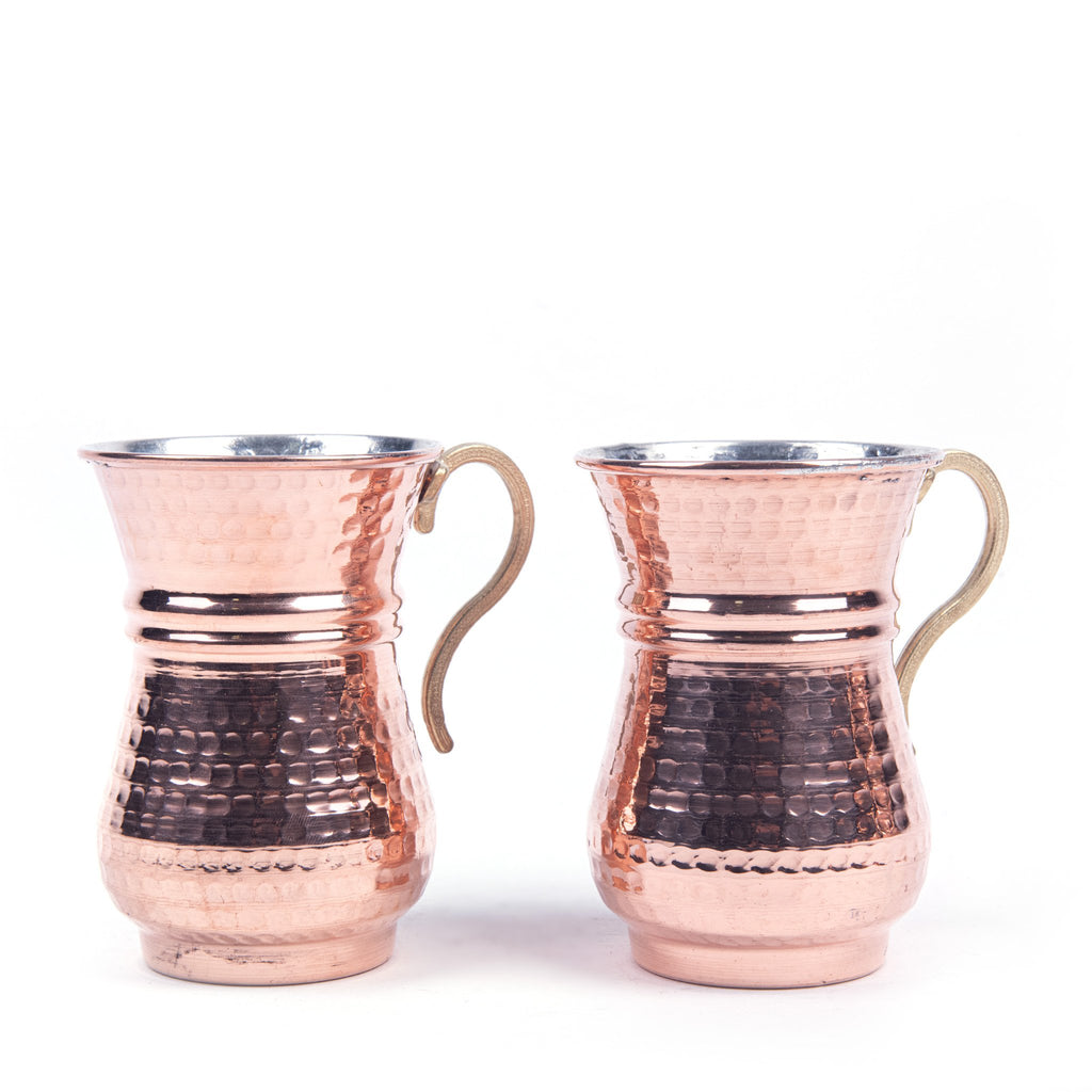 Copper Mug Set Of Two