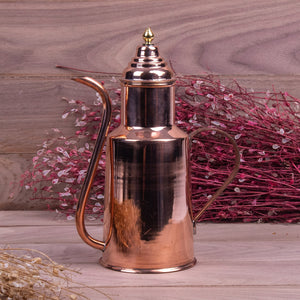 Handmade Copper Oil Bottle-3