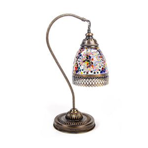 New Design Swan Neck Mosaic Table Lamp - Turkish Gift Buy