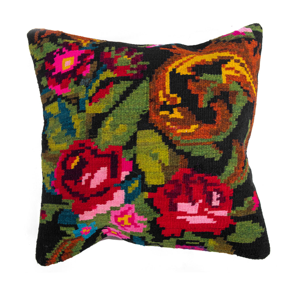 Oriental Kilim Cushion Cover-Front