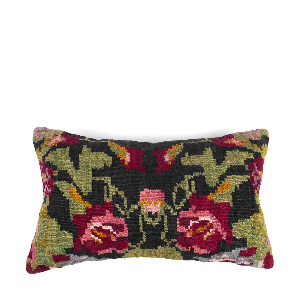 Oriental Kilim Pillow Cover-Front