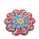 Load image into Gallery viewer, Turkish Ceramic Iznik Design Handmade Embossed Coaster-2
