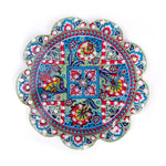Load image into Gallery viewer, Turkish Ceramic Iznik Design Handmade Embossed Coaster