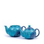 Load image into Gallery viewer, Turkish Ceramic Iznik Design Handmade Embossed Tea Pot-1