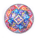 Load image into Gallery viewer, Turkish Ceramic Kutahya Design Handmade Flat Bowl - 15 cm (6'')-2