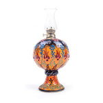 Load image into Gallery viewer, Turkish Ceramic Iznik Design Handmade Oil Lamp With Glass-1