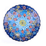 "Load image into Gallery viewer, Turkish Ceramic Iznik Design Handmade Round Plate - 18 cm (7.2"")"