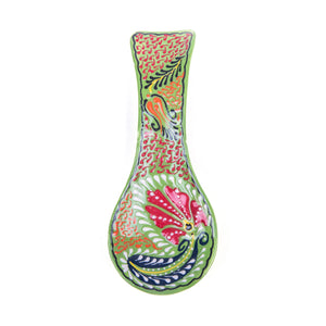Turkish Ceramic Iznik Design Handmade Spoon Rest-1
