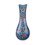 Load image into Gallery viewer, Turkish Ceramic Iznik Design Handmade Spoon Rest