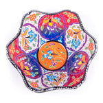 Load image into Gallery viewer, Turkish Ceramic Kutahya Design Handmade V Relief Bowl - 20 cm (8'')-1