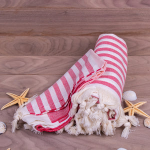 Turkish Towel, American Design Peshtemal With Background