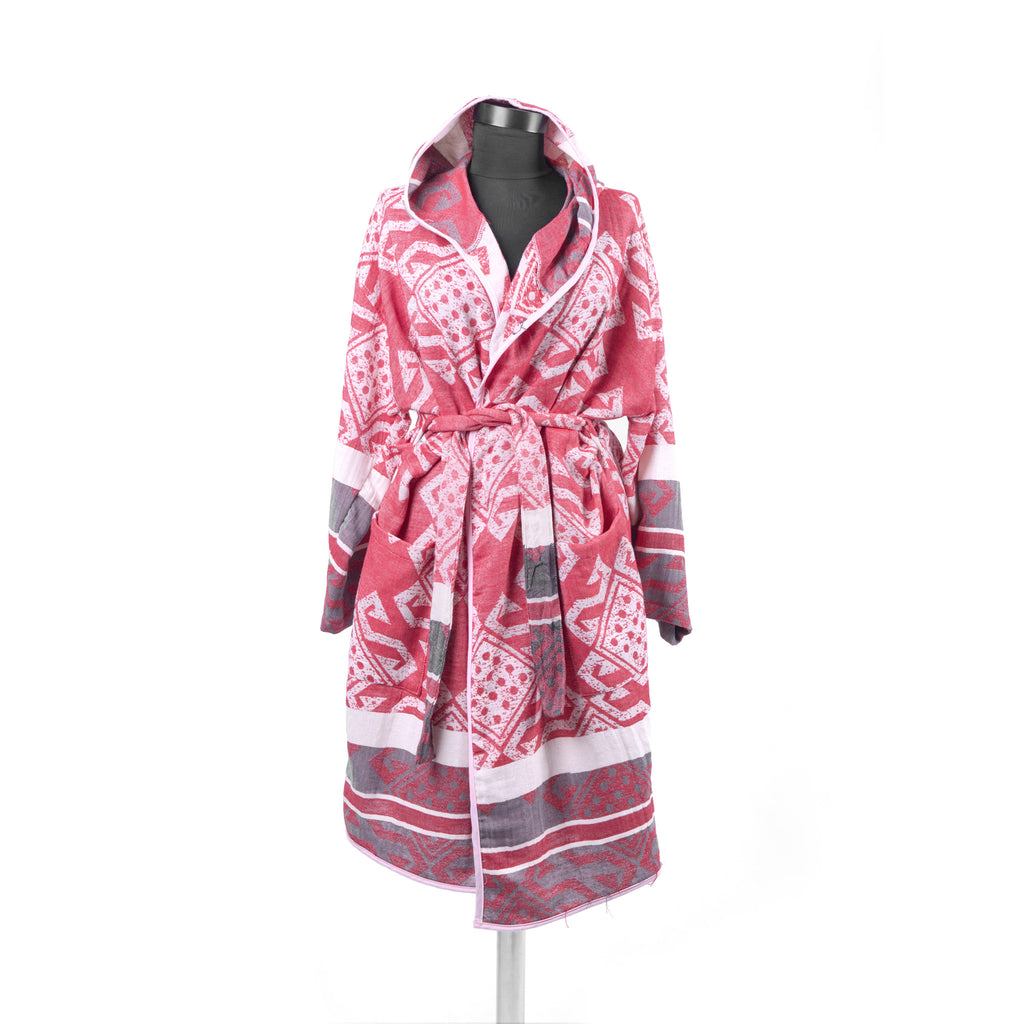 Turkish Towel, Mythology Bathrobe With Hood