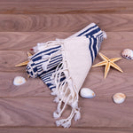 Load image into Gallery viewer, Turkish Towel, Peshkir, Hand Towel With Background - Black