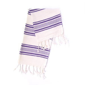 Turkish Towel, Peshkir, Hand Towel - Blue