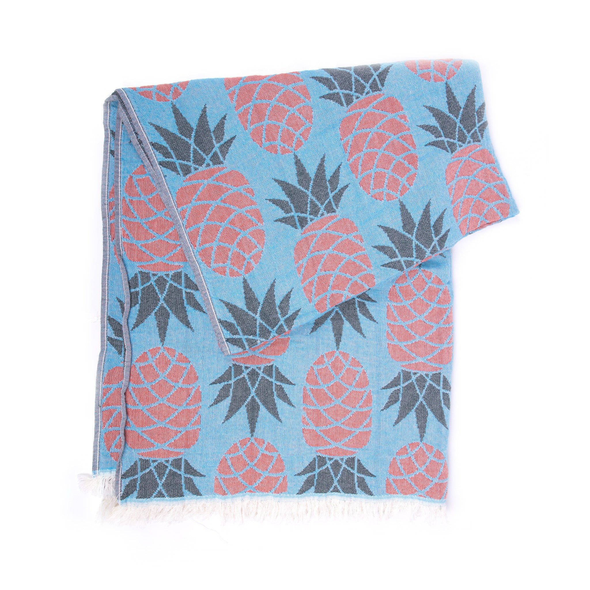Turkish Towel, Pineapple Design Peshtemal-02