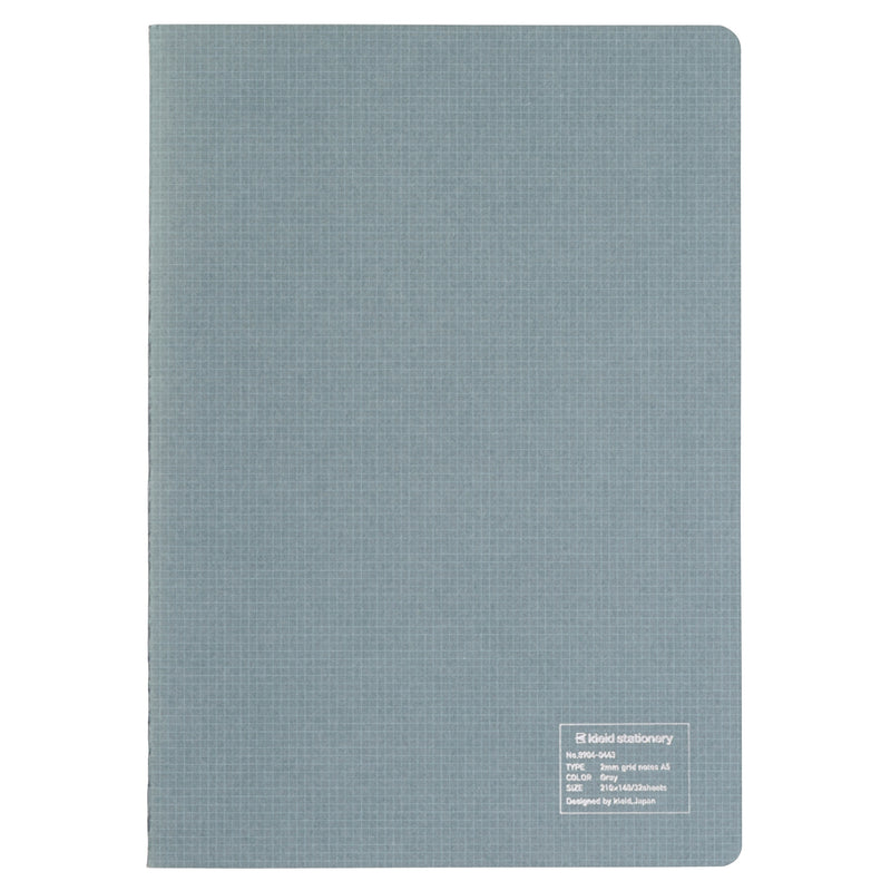 Kleid A5 Grid Notes notebook - Grey