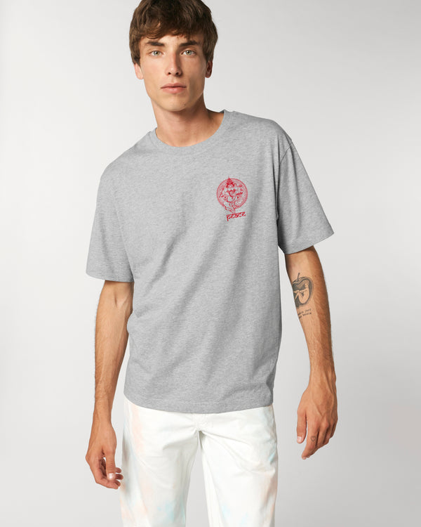 GANESH GREY POCKET UNISEX T-SHIRT