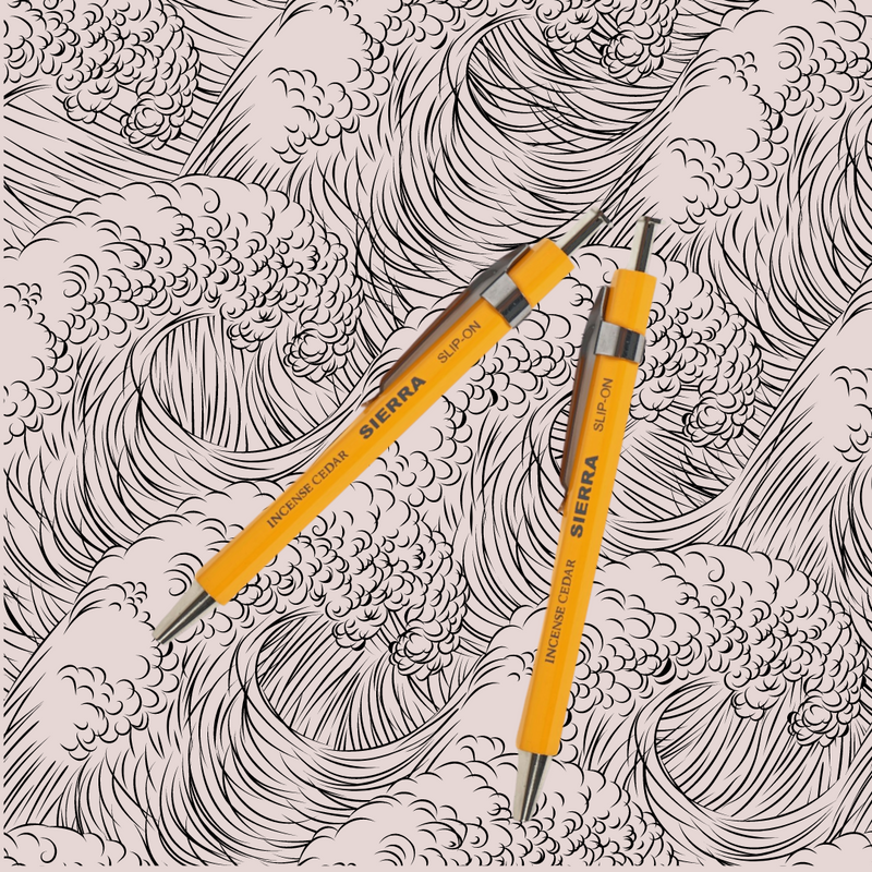 Sierra 0.5mm Needle Point Mini Pen - Safron Yellow