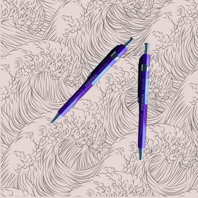 Sierra 0.5mm Needle Point Mini Pen - Purple
