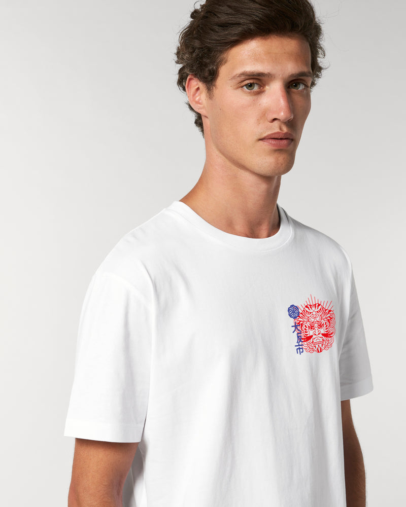 OSAKA CITY WHITE UNISEX T-SHIRT
