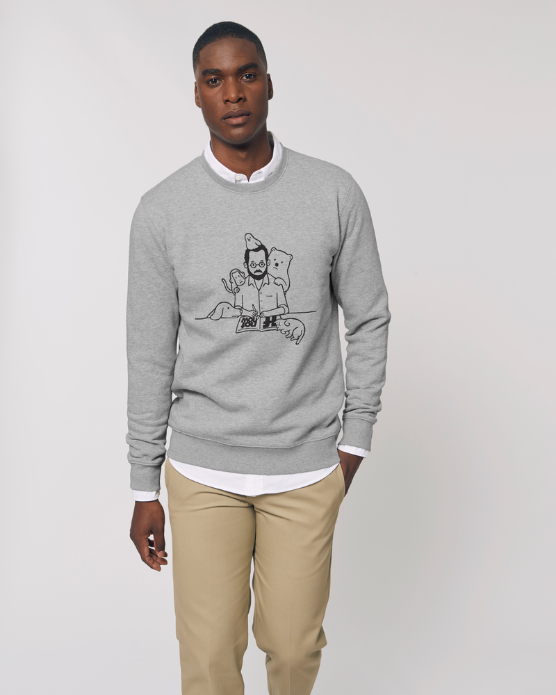 WFH CHEST GREY UNISEX SWEATSHIRT