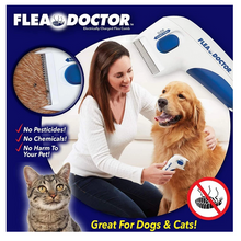 Load image into Gallery viewer, FLEA DOCTOR - ELECTRONIC FLEA COMB