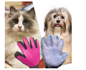 Magic Pets Grooming Glove Deshedding