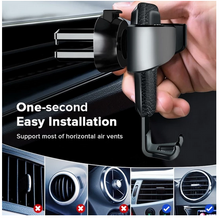 Load image into Gallery viewer, Universal Smartphone Car Air Vent Mount Holder