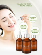 Load image into Gallery viewer, Korean Bio-Cosmetics BeautiO EGF + hGH Revital Ampoule