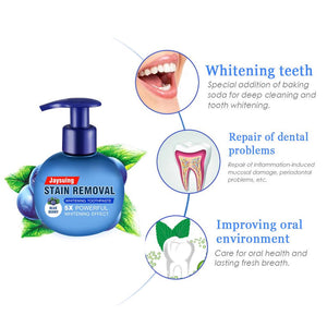 Jaysuing Stain Removal Whitening Toothpaste