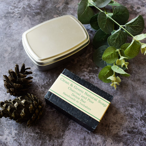 Travel tin - Aluminium - Travel - Soap tin - Recyclable - Soap
