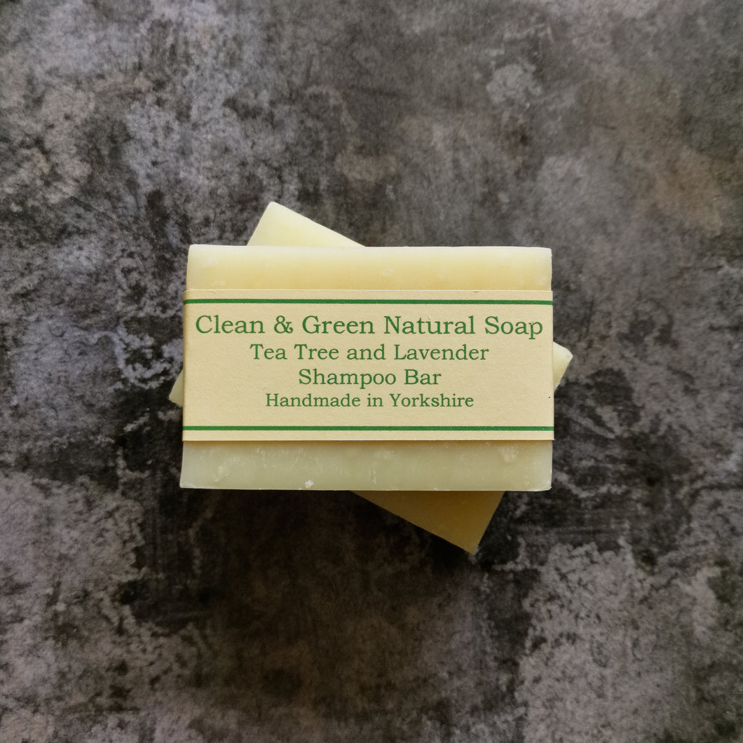 Tea Tree & Lavender Shampoo Bar