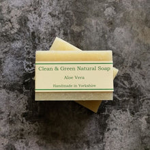 Load image into Gallery viewer, Aloe Vera - Handmade - Soap - Natural - Ethical