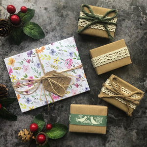 Ladies Christmas Favours with Handcrafted Envelopes