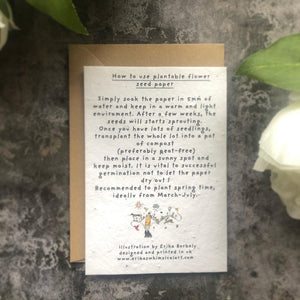 Mothers Day Plantable Card
