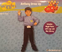 The Wiggles Anthony Dress Up Costume Small 3-5 years for Kids