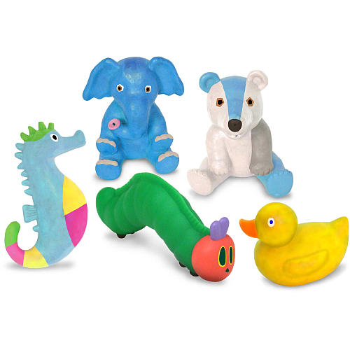 The Very Hungry Caterpillar Bath Squirties / Bathtub Squirt Toys - Eric Carle
