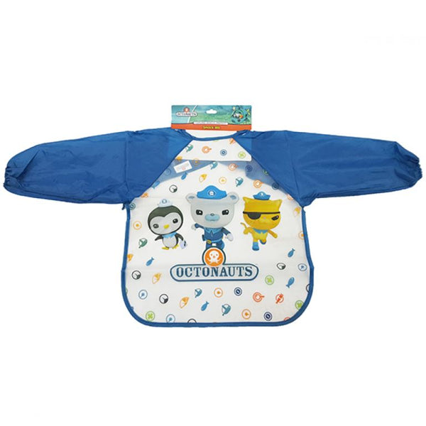 Octonauts Smock Bib for Baby - Long Sleeves Waterproof Bib