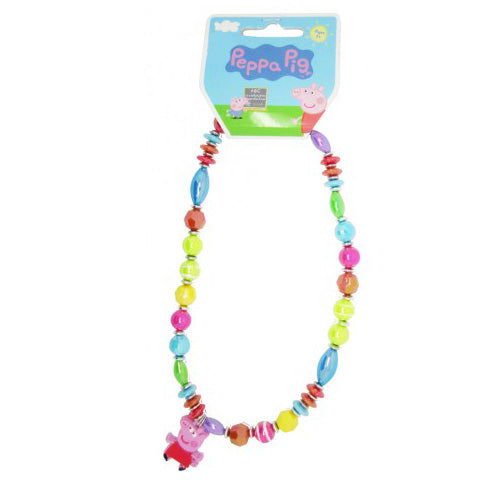 Peppa Pig Necklace Chunky Necklace for Girls