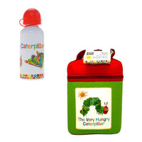 COMBO Aluminium Drink Bottle AND Thermal Bag The Very Hungry Caterpillar