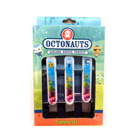 Octonauts Cutlery Set Spoon Fork Knife 3 Piece Set for Kids