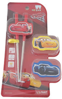 Disney Cars Training / Learning Chopsticks Stainless Steel RIGHT Handed for Kids