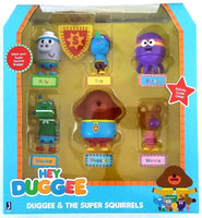 Hey Duggee & The Super Squirrels Figurine Set 6 Pcs - Great for Cake Topper