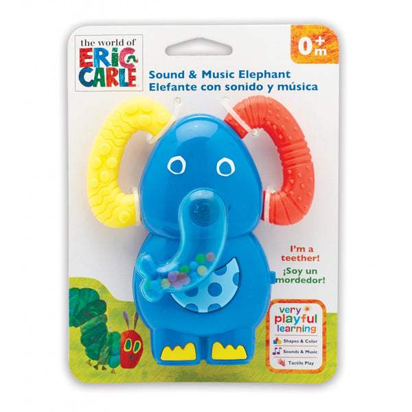 The Very Hungry Caterpillar Sound and Music Elephant Teether Eric Carle